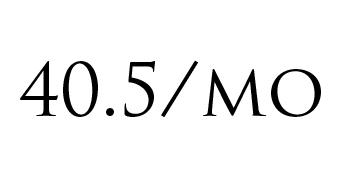 月平均40.5件の対応実績イメージ